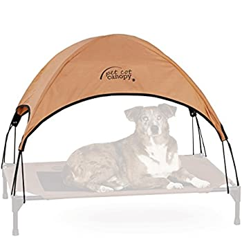 "K&H Pet Products Pet Cot Canopy Large Tan 30"" x 42"""