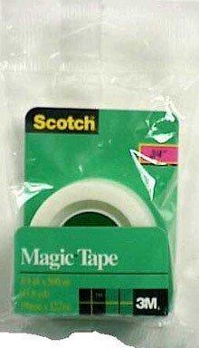 Scotch 3M 205 Magic Tape Refill, 3/4 x 500 Inches (Pack of -