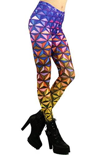 World of Leggings 3D Color Prism Leggings ()