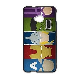 Super Heros Black HTC M7 case