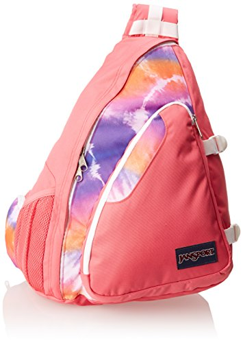 JanSport Air Cisco Backpack (Pink Prep Hippy Skip) (Jansport Backpacks Sling)