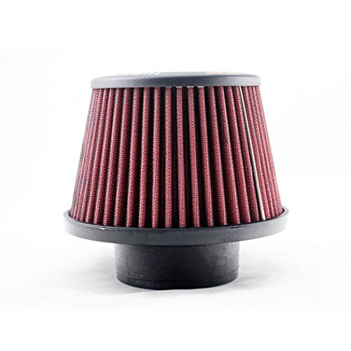 Filter Synthetic Dryflow - Y&Jack R-EP Universal Clamp-on Air Filter: Round Tapered Caliber 65/76mm, Height 145mm, Bottom Diameter 155mm, Top Diameter 120mm