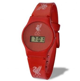 Liverpool F.C. - Reloj digital de pulsera para niños, diseño del Liverpool F.C.