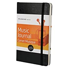 Moleskine Passion Journal - Music, Large, Hard Cover (5 x 8.25)