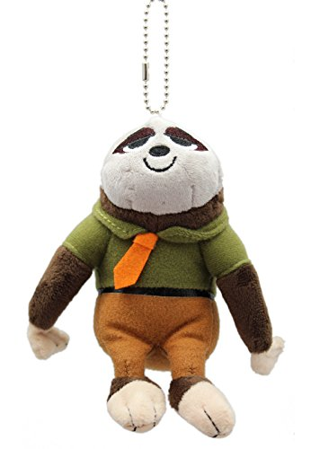 Disney'S Zootopia Flash Stuffed Plush Keychain -