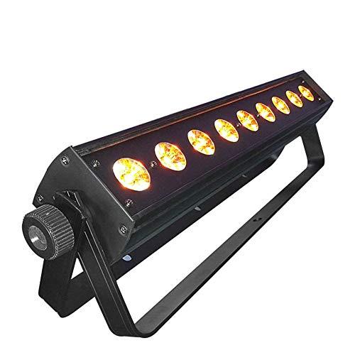 Toran Home DJ Lights Stage Lighting 912w RGBWA+UV 6in1 LED Light Bar Stage Effect Light DMX Washer LED Bar Light for Party KTV Bar Disco Dj Show