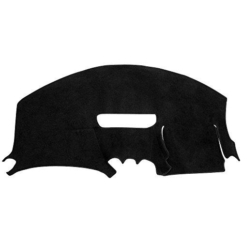 (Hex Autoparts Dash Cover Mat Pad Carpet fit for 1997-2002 Pontiac Firebird (Black))