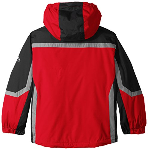 Jacket Little Red Puffer Coat with Racer Boys' Systems Free Country APnaqRwR7