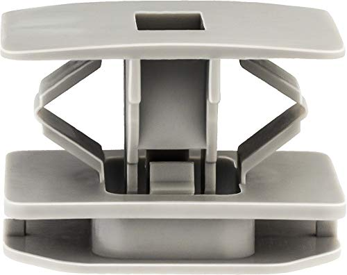 (Clipsandfasteners Inc 15 Rocker Panel Moulding Clips Compatible with Ford 500 6G1Z-5410182-A)