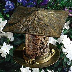 Pinecone Tube (Whitehall Pinecone Tube Bird Feeder, French Bronze)