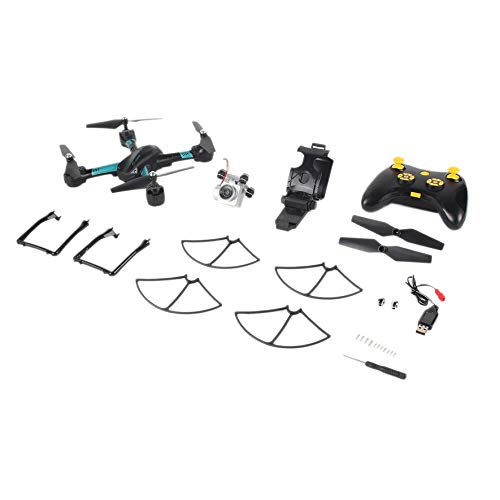 8Eninine Quadcopter S31 Headless Mode Mini RC Helicopter Drone 2.4Ghz 6-Axis Gyro 2MP blu