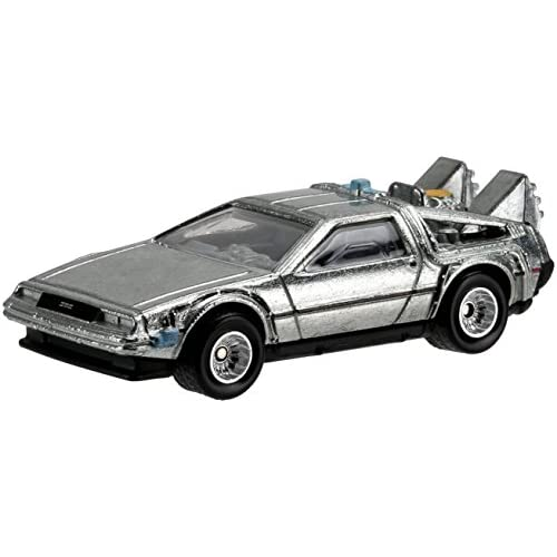 Hot Wheels Retro Entertainment Diecast Back To The Future Time Machine Vehicle by Hot Wheels