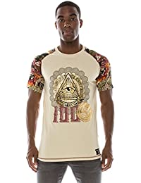 Mens Hipster Hip Hop Money Graphic Dollar Print T-shirts