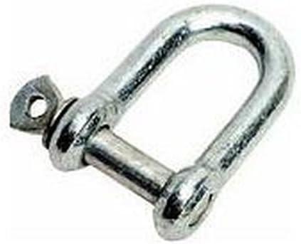 TMC - Grilletes (2 unidades, acero galvanizado, 16 mm)