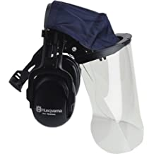 Husqvarna 505665348 Plexiglas Face Visor With Headband Hearing Protectors