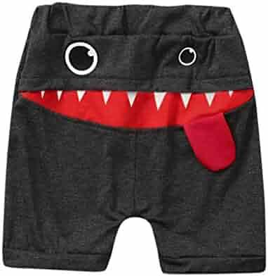 2c7904883f5a iZHH Toddler Baby Children Kids Boys Shorts,Summer Clothes Cartoon Print  Casual Sport Pants Beach