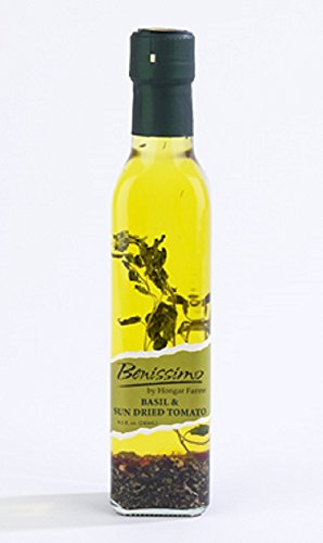 Benissimo Gourmet Oils, Basil and Sun Dried Tomato, 8.1 Ounce