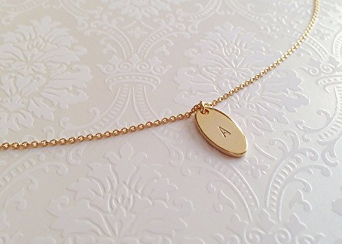 A Personalized Tag Pendant Necklace Gold - 24k Oval Pendant Shopping Results