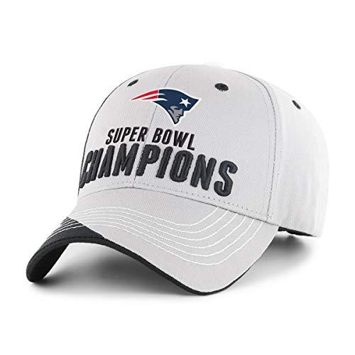 3ec00028 OTS NFL New England Patriots Super Bowl LIII Champions Hubris All-Star  Adjustable Hat by OTSRE Old Time Sports Replenishment