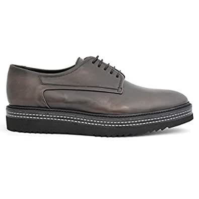 Calce Grey Lace-up Men Formal Shoes