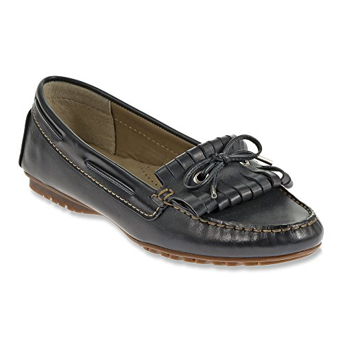Navy Sebago Kiltie Meriden Leather Women's Oxford wwHqRxgC
