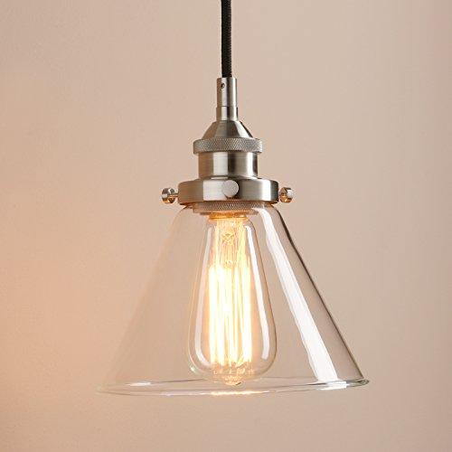 Glass Funnel Pendant Light - 1