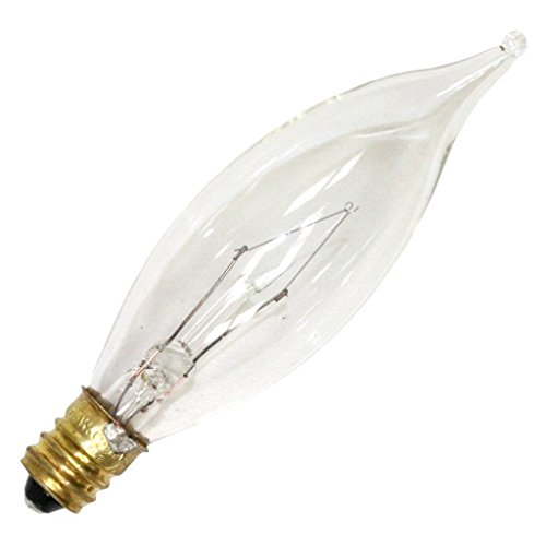 Luminance 08869 - L0102 15CA8/3 CA8 Decor Light - Candelabra 130v Ca8