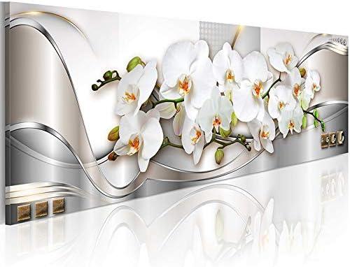 [해외]Inzlove Flowers Canvas Wall Art White Orchid Floral Paintings Prints Abstract Artwork Pictures for Bedroom Decor / Inzlove Flowers Canvas Wall Art White Orchid Floral Paintings Prints Abstract Artwork Pictures for Bedroom Decor