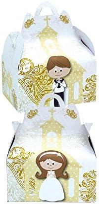 Verbetena 011900039 - Cajita comunión gold, Bolsa 24 unidades ...