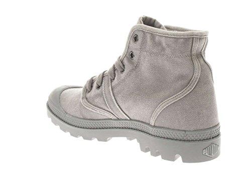 In Uomo Pallabrouse Palladium Sneaker Tessuto Grigio U1wwCa