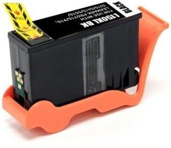 12 Inkjet Cartridges etc; Black Ink S415 Bulk: R14N1614-12 Myriad Compatible Inkjet Cartridges 150XL; Models: S315 S515 Replacement for Lexmark 14N1614