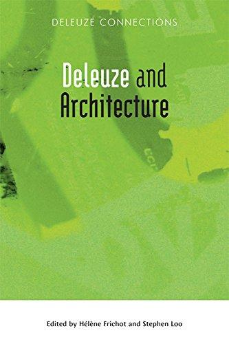 Deleuze And Architecture  Deleuze Connections