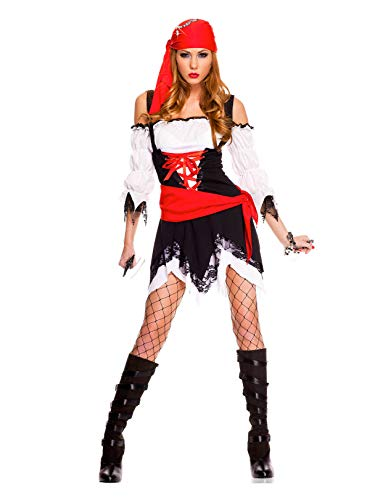 Pirate Vixen Adult Costume - Small/Medium -
