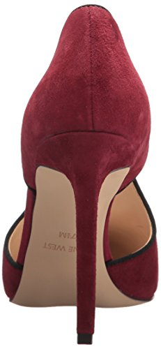 West Tyrell Black Nine Suede Wine Women's SwxznqdA