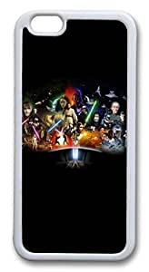 iphone 6 4.7inch Case and Cover Star Wars Cast TPU Silicone Rubber Case Cover for iphone 6 4.7inch White by mcsharksby Maris's Diary