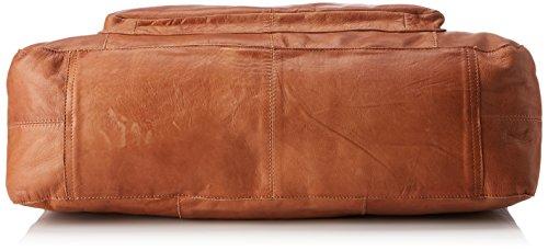 PIECES Damen 17055349 Henkeltasche, Braun (Mocca), 12x20x32 cm