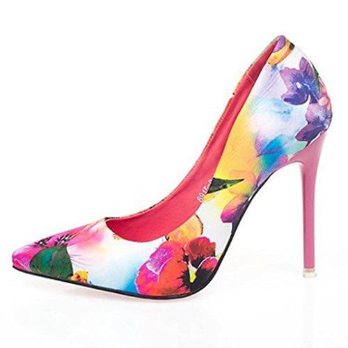 Bouche Florale Cheongsam Ensemble Chaussures Chaussures B A Fines Talons Mariée Mariage Hauts Peu Chaussures Avec Tissu Profondes Zhifengliu De Pieds De La De Chaussures Des De P0wqv8