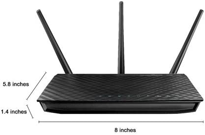 Asus N900 Wifi Router Rt N66u Dual Band Gigabit Wireless Internet Router 4 Gb Ports Gaming Streaming Easy Setup Parental Control Computers Accessories