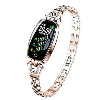 41TsBF80S6L. SS320 Gadgets Appliances Gadgets Appliances Female's Smart Watch, Exquisite Fitness Tracker, Blood Pressure/Heart Rate/Sleep…