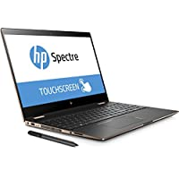 New HP Spectre x360 - 15t Touch Laptop 2-in-1 Premium 4K Display Intel i7-8705G Radeon RX Vega M Thunderbolt USB-C Finger Print Reader Numeric keypad HP Stylus Pe (2TB SSD UPGRADE|32GB RAM|WIN 10 PRO)