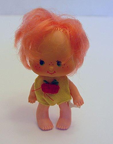 1979 Cherry Cuddler Vintage Doll 3.75 Inch Tall Strawberry Shortcake's - Doll Strawberry Clothes Shortcake