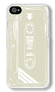 Castle Custom iphone 5c iphone 5c Case Back Cover, Snap-on Shell Case Polycarbonate PC Plastic Hard Case Transparent