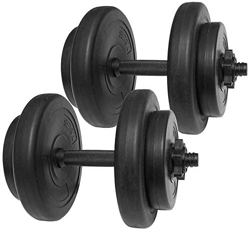 BalanceFrom All-Purpose Weight Set, 40 lbs