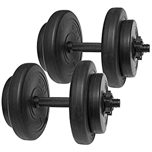 Well-Being-Matters 41TsCsf6PwL._SS300_ BalanceFrom All-Purpose Weight Set, 40 Lbs