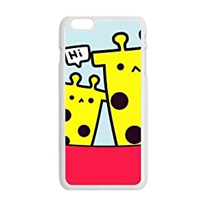 cartoon cute giraffe personalized creative custom protective phone case for Iphone 6 4.7Kimberly Kurzendoerfer