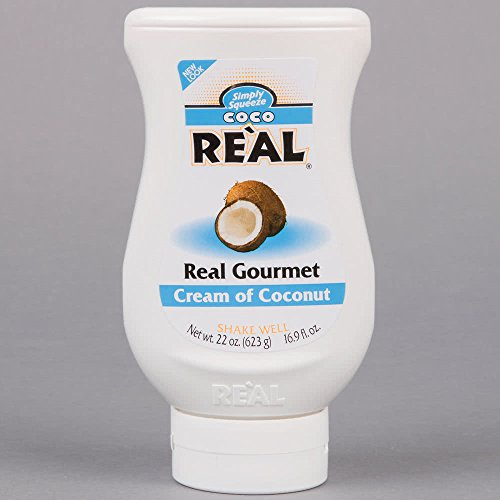 Coco Real Cream of Coconut, 595g Cocktail Mix - Imported from Canada by Real