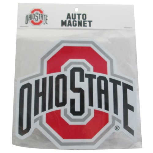 Victory Postcards NCAA Ohio State Buckeyes Athletic Logo Car Magnet, 6.5