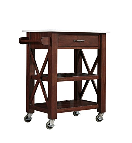 Kitchen Cart with Marble top - Marble Kitchen Island