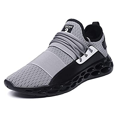 KH3S Style Four Seasons Running Shoes for Men Gym Male Sneakers Betis Zapatillas (8.5,