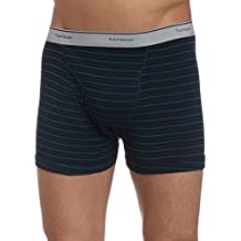 Fruit of the Loom Men's Stripe/Solid Assorted Trunks(Pack of 4)